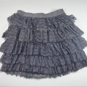 New Grey Lace J Crew Skirt!